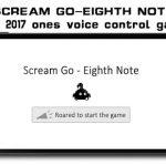 Eighth Note - Scream Go