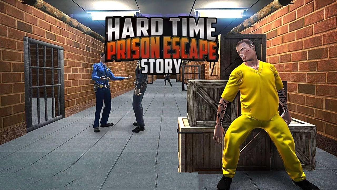 Hard Time Prison Escape 3D — Взломайте решетки, раскидайте охрану и совершите побег из тюрьмы.