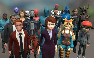 Взаимосвязь между аватарами и средами в социальной виртуальной реальности.