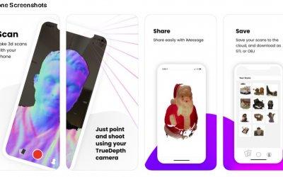 Приложение CAPTURE превращает IPHONE и IPAD в 3D-СКАНЕРЫ для AR.