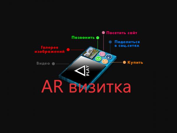 Для чего визиткам AR-эффект