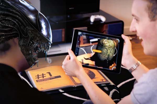 Книги с AR-контентом. Будущее за дополненной реальностью