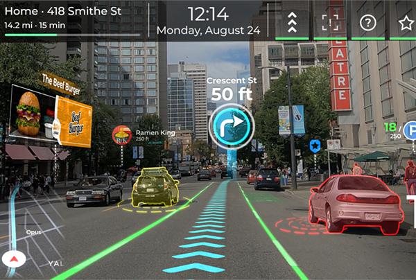 AR-система для водителей представлена компанией Panasonic на выставке CES 2021