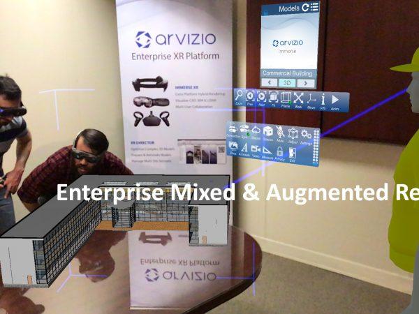 Разработка Arvizio для совместной работы над AR-объектами во время онлайн-конференций