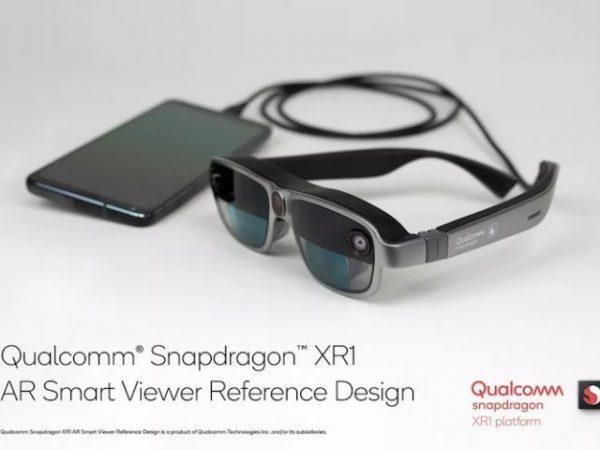 Легкость дизайна AR-очков от Qualcomm с подключением к смартфону.