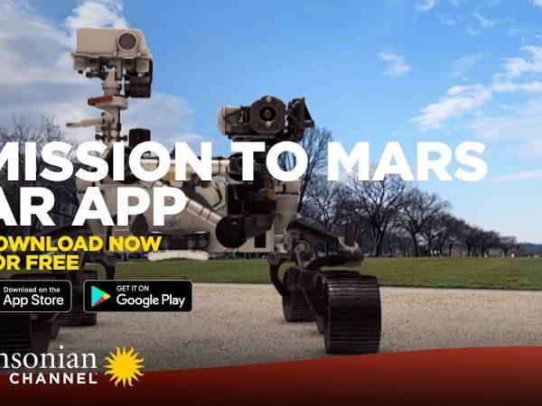Марс в дополненной реальности в AR-игре MISSION TO MARS