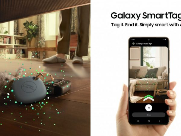 Samsung Galaxy SmartTag+ с UWB поможет найти потерянные вещи с помощью AR
