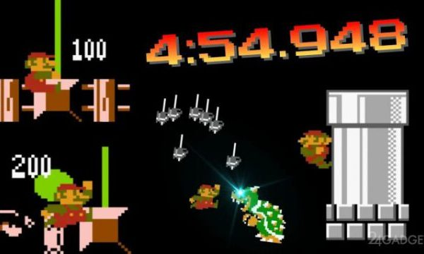 В Super Mario Bros установлен новый рекорд