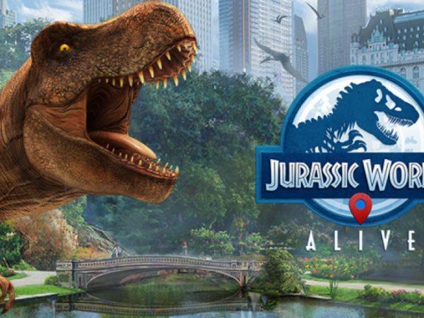 Jurassic World Alive — охота за динозаврами VR