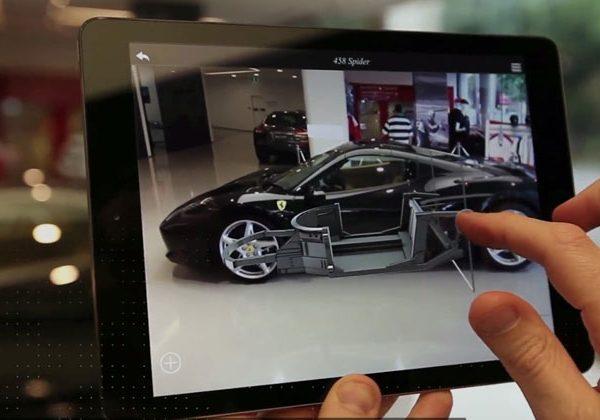 Porsche демонстрирует авто при помощи AR-приложение