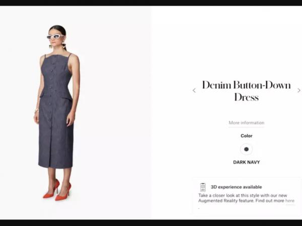 Популярный бренд Carolina Herrera прилагает к коллекции AR