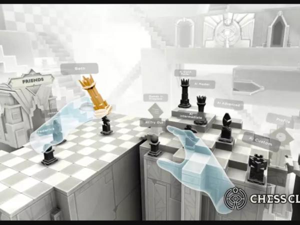 Игра VR-шахматы для Oculus Quest