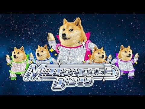 Million Doge Disco AR-игра в стиле тамагочи на основании криптовалюты